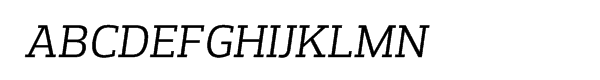 Prelo Slab Book Italic  नि: शुल्क फ़ॉन्ट्स डाउनलोड
