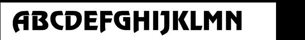 Revue™ Regular  Free Fonts Download