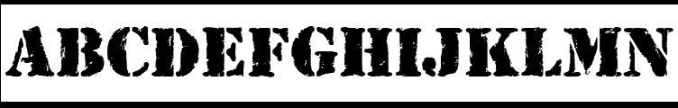 RufCrate Normal Font