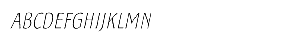SamSans Thin Italic  Free Fonts Download