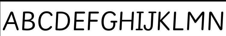 Sassoon Montessori Regular  Free Fonts Download