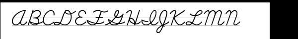 School Script Lined  नि: शुल्क फ़ॉन्ट्स डाउनलोड