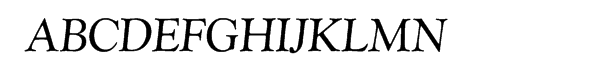 SG Goudy Catalogue SH Regular Italic  Free Fonts Download