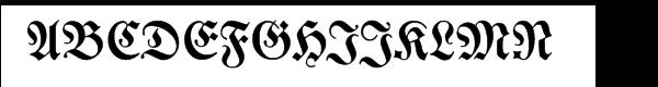 SG Neue Luthersche Fraktur SB Medium  Free Fonts Download