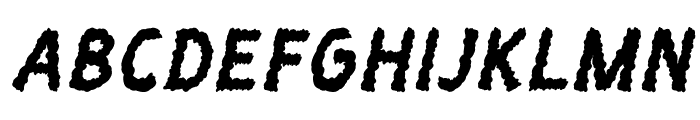 SmudgieItalic  フリーフォントのダウンロード