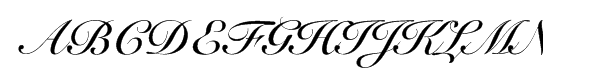 G unit font Roundhand calligraphy