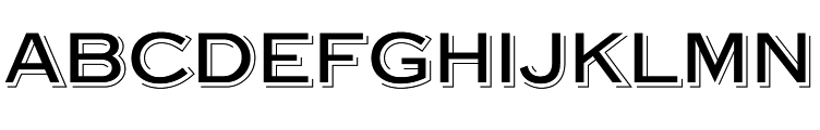 Steelplate Gothic Shaded  नि: शुल्क फ़ॉन्ट्स डाउनलोड