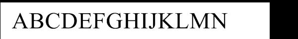 Times New Roman® WGL  Free Fonts Download