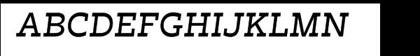 Trilby Medium Italic  Free Fonts Download