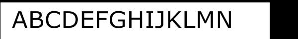 Verdana® Regular  Free Fonts Download