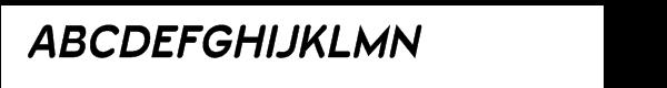 Wevli Bold Italic  font caratteri gratis