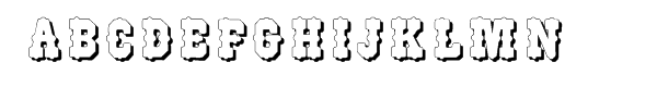 WoodType 515 Shadow  Free Fonts Download